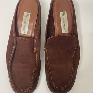 ETIENNE AIGNER Loafer Slip On Shoes 10 M Leather